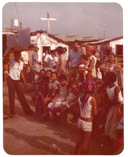 inicio da creche menino deus em 1980